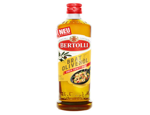 Bertolli Bratolivenöl – der Allrounder für die heiße Küche